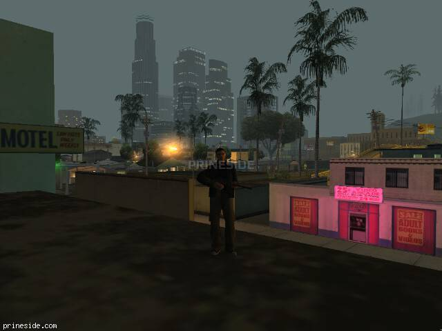GTA San Andreas weather ID 378 at 4 hours