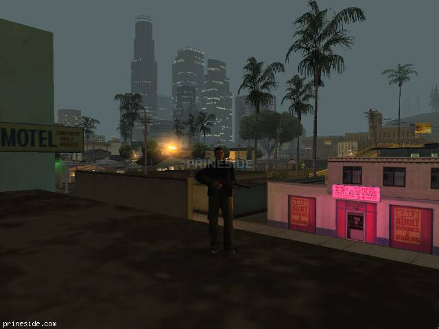 GTA San Andreas weather ID 122 at 5 hours