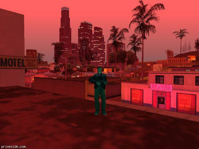 Просмотр погоды GTA San Andreas с ID 123 в 22 часов