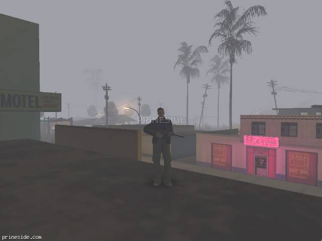 GTA San Andreas weather ID 124 at 0 hours