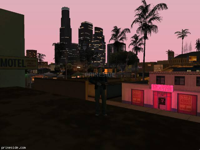 GTA San Andreas weather ID 124 at 23 hours