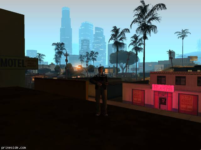 GTA San Andreas weather ID 125 at 0 hours