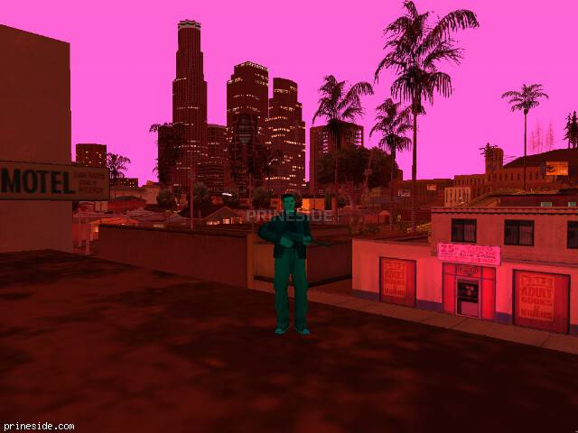 GTA San Andreas weather ID -643 at 21 hours