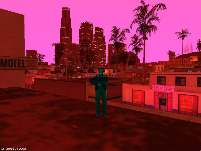 GTA San Andreas weather ID -643 at 22 hours