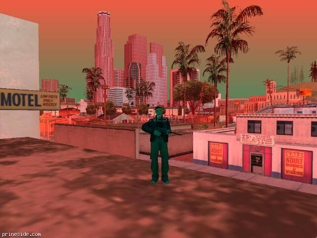 GTA San Andreas weather ID 126 at 16 hours