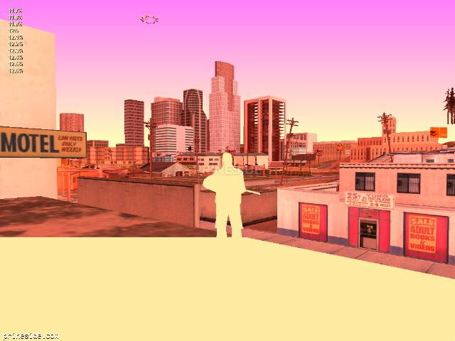 GTA San Andreas weather ID 126 at 20 hours