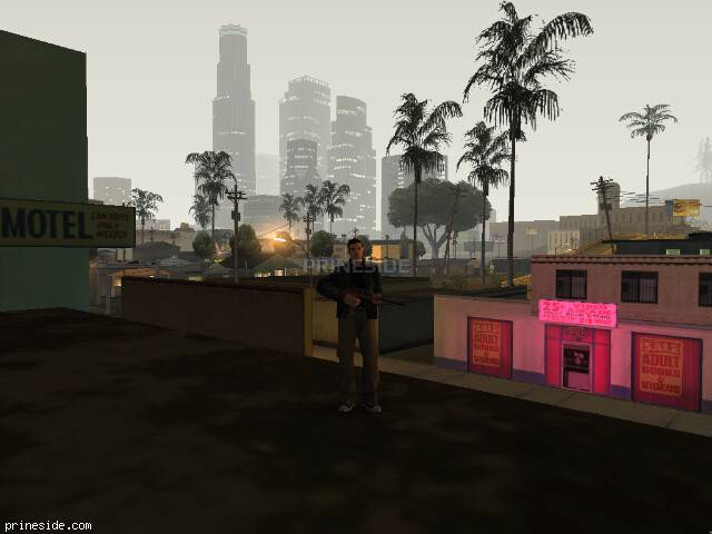 GTA San Andreas weather ID 127 at 0 hours