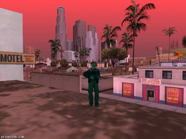 GTA San Andreas weather ID 127 at 17 hours