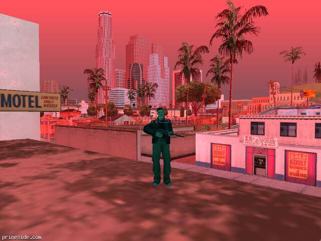GTA San Andreas weather ID 127 at 18 hours