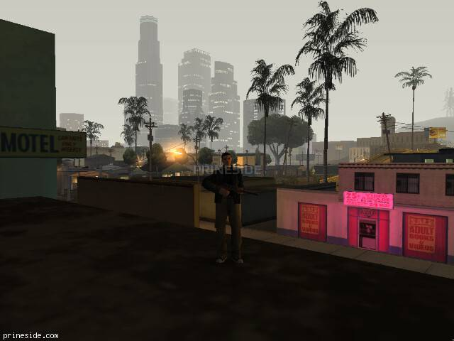 GTA San Andreas weather ID 127 at 1 hours
