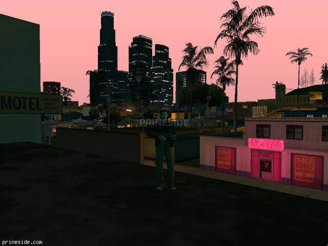 GTA San Andreas weather ID 127 at 22 hours