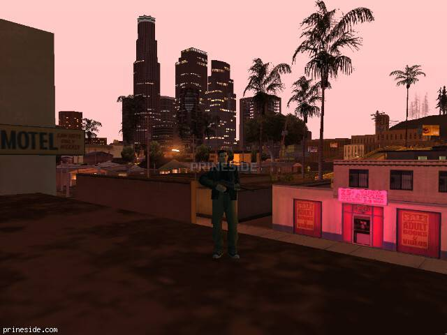 GTA San Andreas weather ID 127 at 23 hours