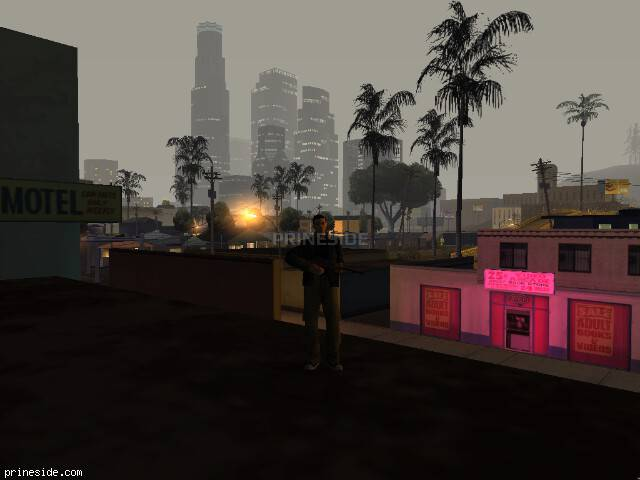 GTA San Andreas weather ID 127 at 4 hours