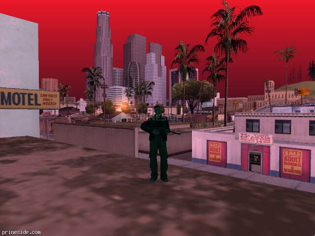 GTA San Andreas weather ID 127 at 8 hours