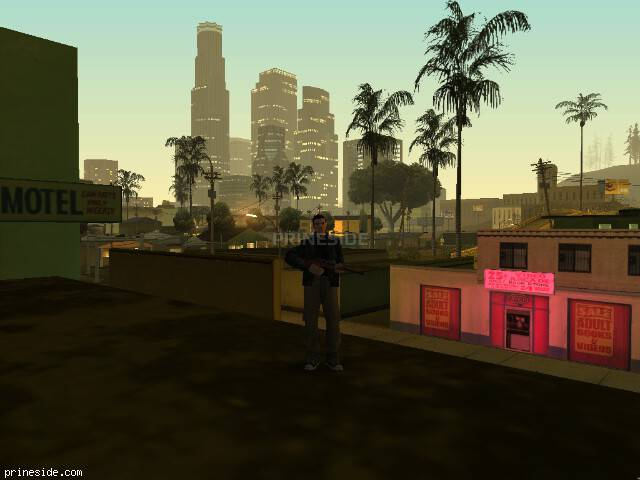 GTA San Andreas weather ID 129 at 0 hours