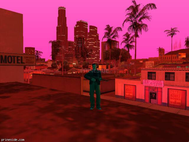 GTA San Andreas weather ID 129 at 22 hours