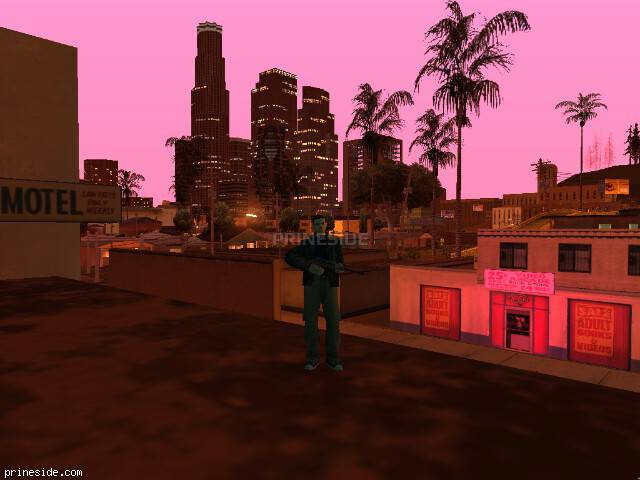 GTA San Andreas weather ID 129 at 23 hours