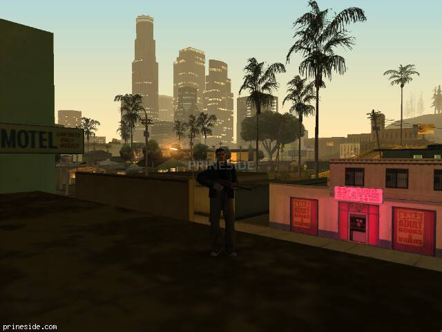 GTA San Andreas weather ID 129 at 2 hours