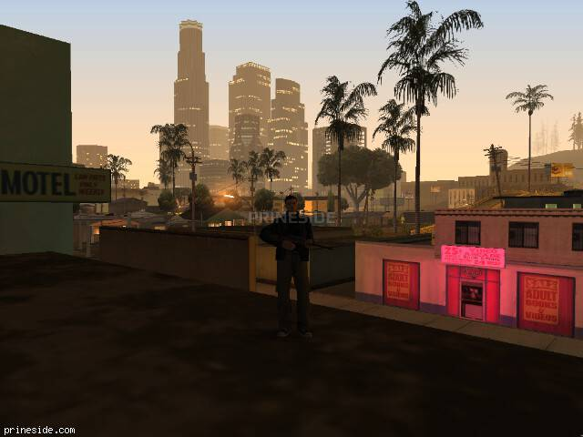 GTA San Andreas weather ID 129 at 5 hours