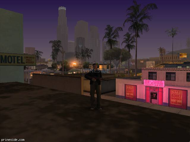GTA San Andreas weather ID 129 at 6 hours
