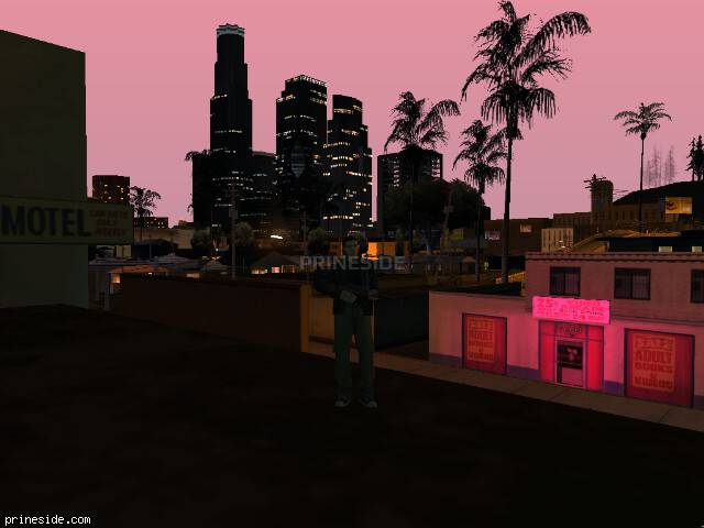 GTA San Andreas weather ID 130 at 23 hours