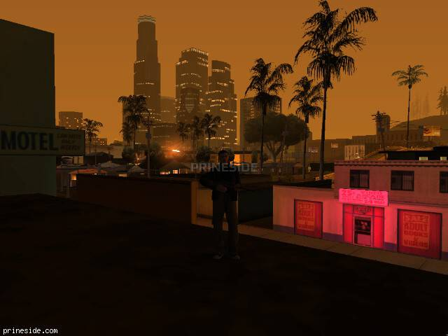 GTA San Andreas weather ID 132 at 5 hours