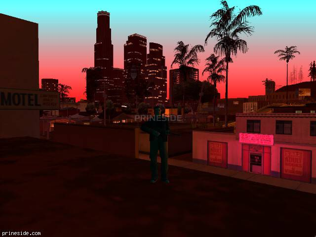 GTA San Andreas weather ID -119 at 21 hours