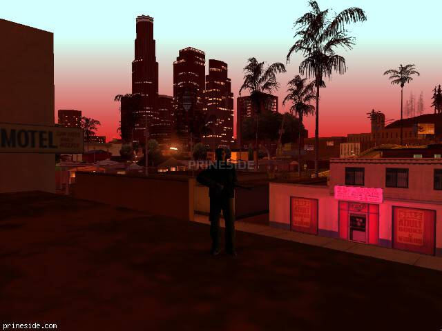 GTA San Andreas weather ID 393 at 23 hours
