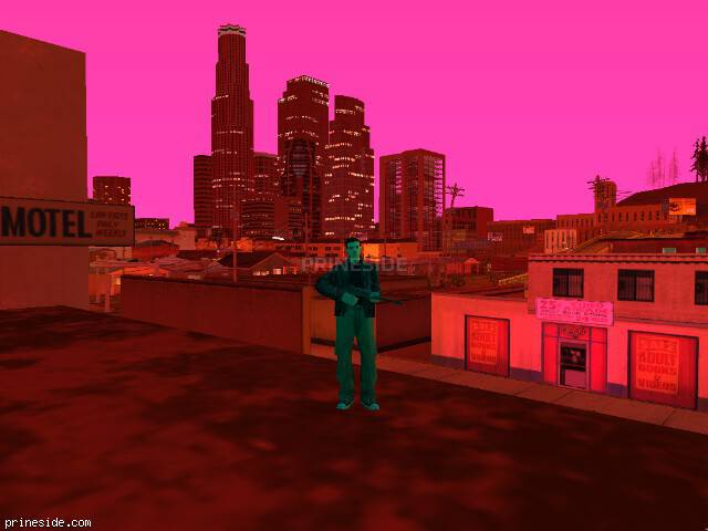 GTA San Andreas weather ID 139 at 21 hours