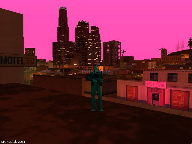 GTA San Andreas weather ID 139 at 22 hours