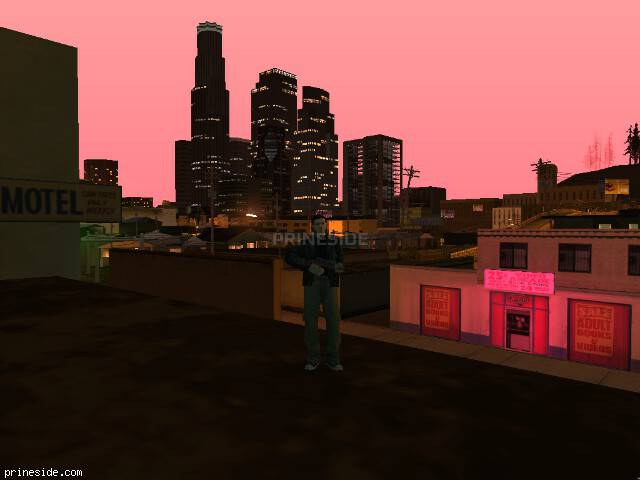 GTA San Andreas weather ID 139 at 23 hours