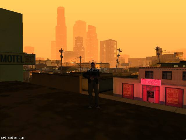 GTA San Andreas weather ID 139 at 3 hours