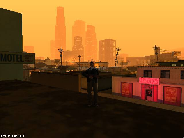 GTA San Andreas weather ID 139 at 5 hours