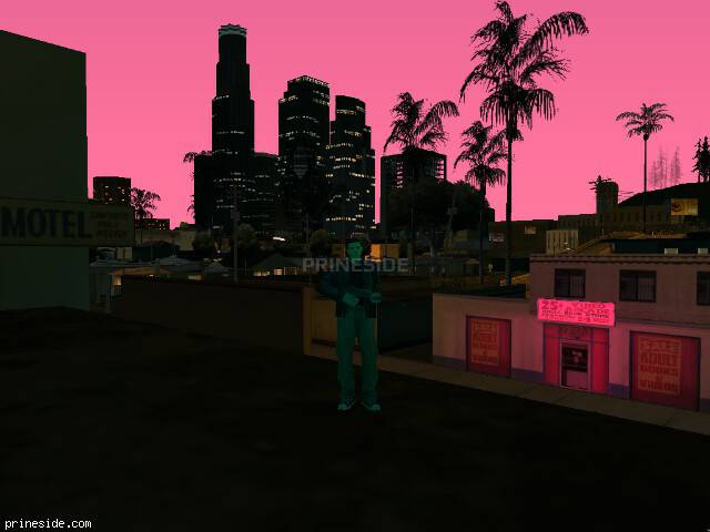 GTA San Andreas weather ID 140 at 21 hours