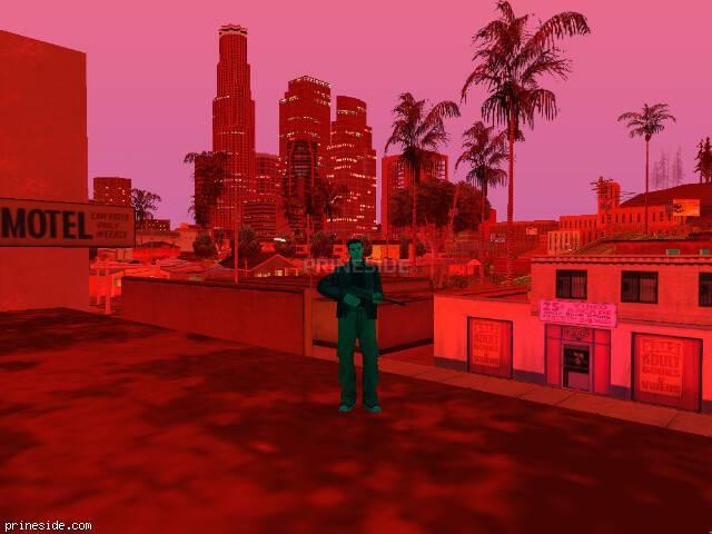 Просмотр погоды GTA San Andreas с ID 140 в 22 часов