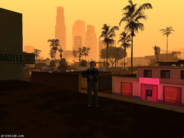 GTA San Andreas weather ID 141 at 0 hours