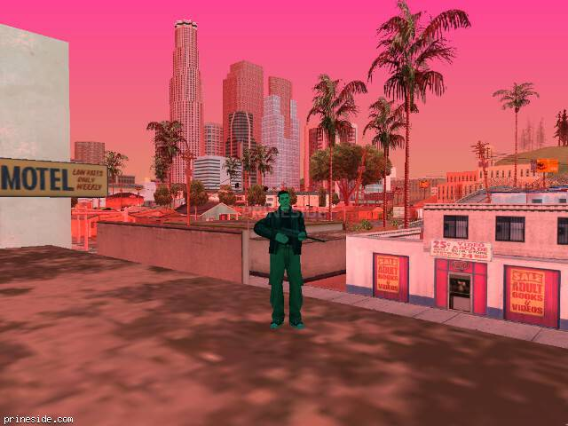 GTA San Andreas weather ID 141 at 10 hours
