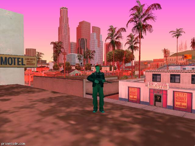 Просмотр погоды GTA San Andreas с ID 141 в 12 часов