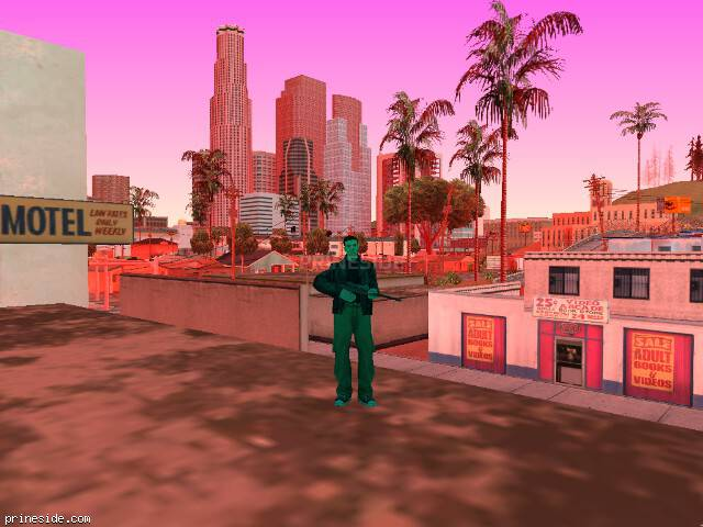 GTA San Andreas weather ID 141 at 16 hours