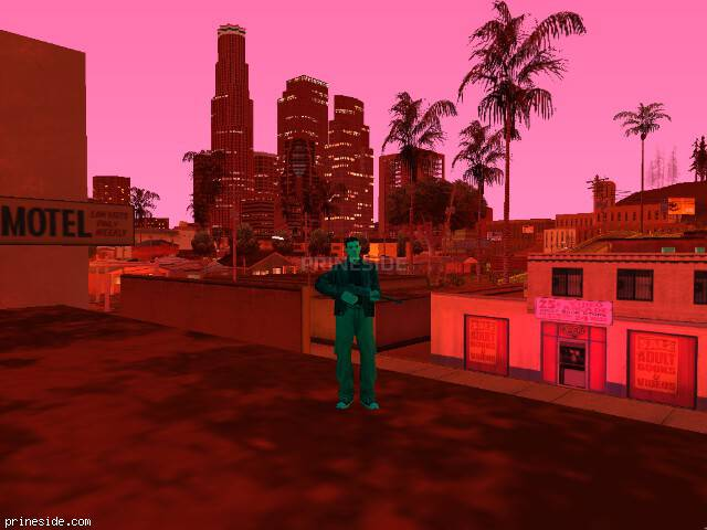 GTA San Andreas weather ID 141 at 21 hours