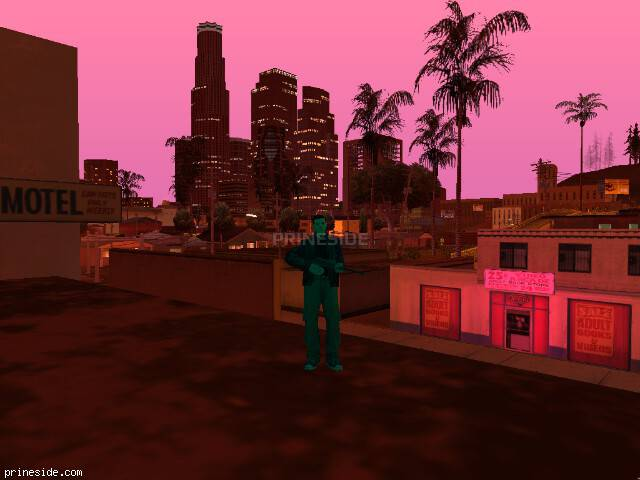 GTA San Andreas weather ID 141 at 22 hours