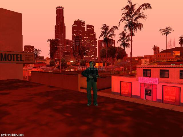 GTA San Andreas weather ID 141 at 23 hours