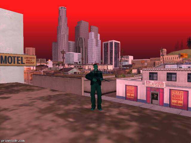 GTA San Andreas weather ID 142 at 12 hours