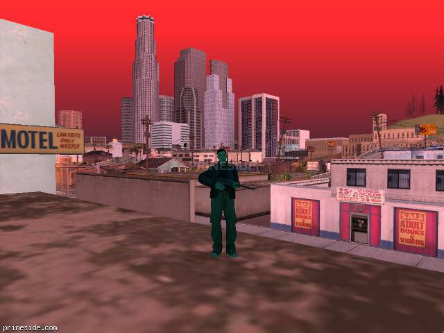 GTA San Andreas weather ID 142 at 13 hours