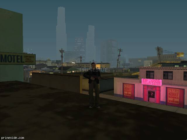 GTA San Andreas weather ID 142 at 1 hours