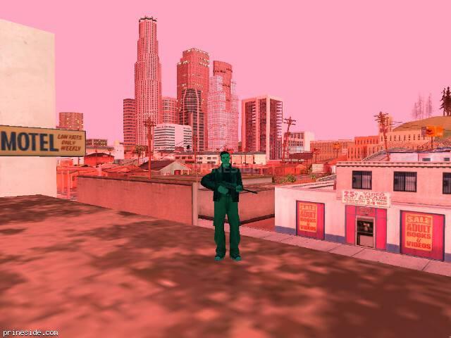 Просмотр погоды GTA San Andreas с ID 142 в 20 часов