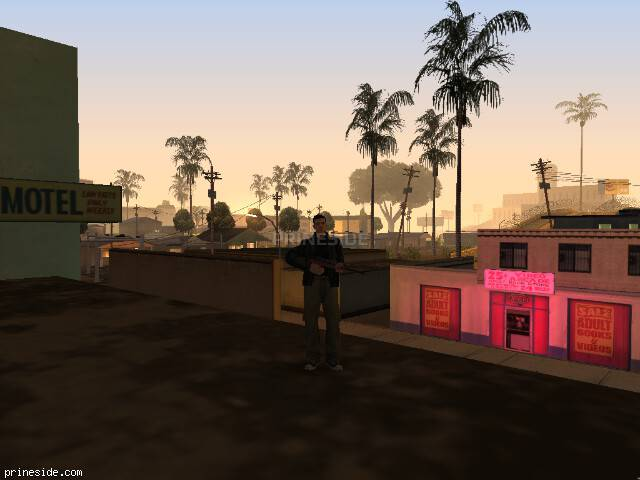 GTA San Andreas weather ID 143 at 0 hours