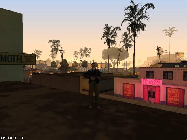 Просмотр погоды GTA San Andreas с ID 143 в 0 часов