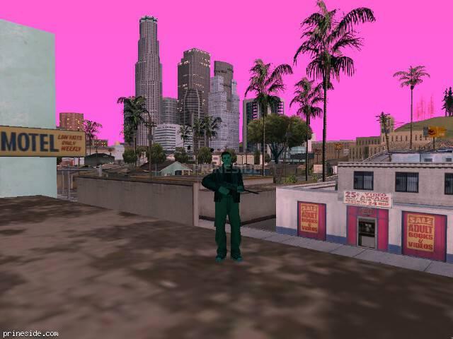 Просмотр погоды GTA San Andreas с ID 143 в 20 часов