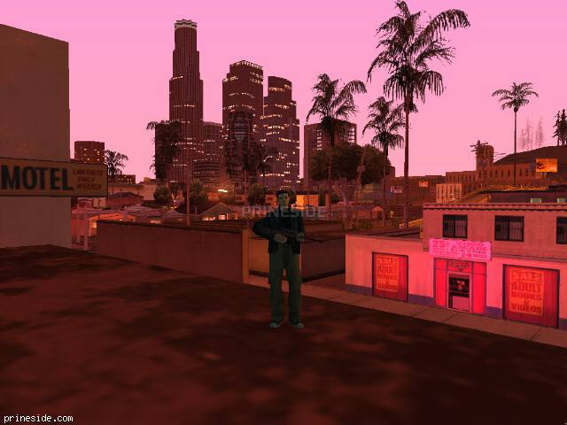 GTA San Andreas weather ID 655 at 23 hours